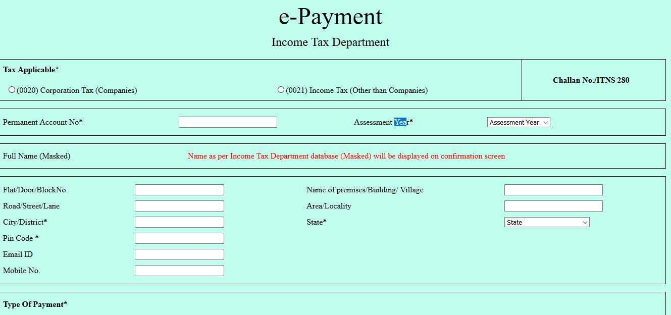 Advance tax payment procedure | KnowyourGST com