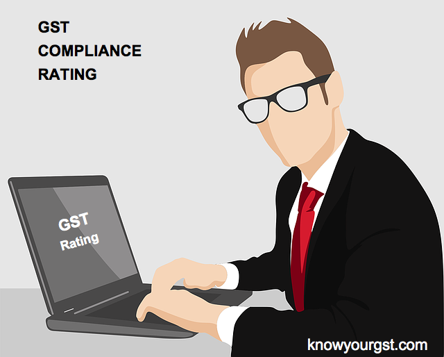 GST compliance rating score