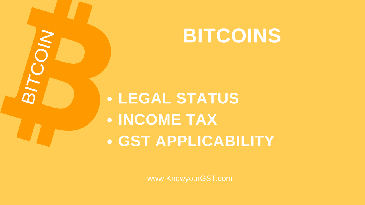 Bitcoin taxation India